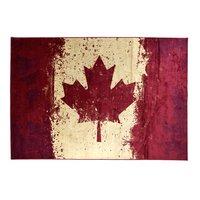 Konstsilkesmatta Canadian Flag