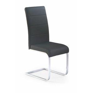 Macy stol - svart eco läder