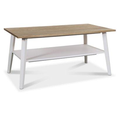 Conforma soffbord rektangulärt - Vit / Ek