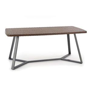 Piers matbord - Valnöt/grafit
