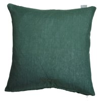 Harmony Linne kuddfodral 45x45 cm - Grön