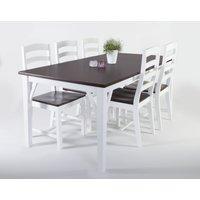 Lyon matgrupp -Bord inklusive 6 st stolar