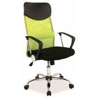 Kvissle skrivbordsstol - Svart/grön