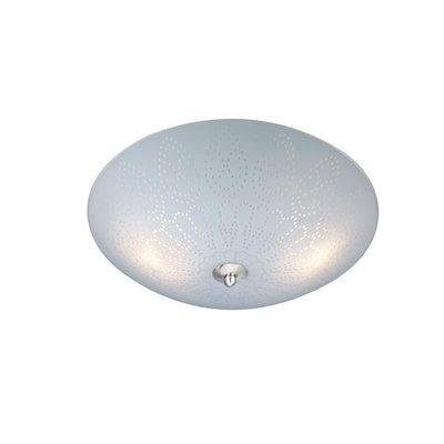 Spets Taklampa - Frostat glas/Stål