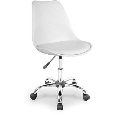 Caroline skrivbordsstol - vit