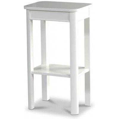 Marstrand vitt sängbord med låda