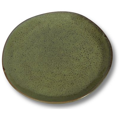 Dreja tallrikar 4 st i ett set - Grön