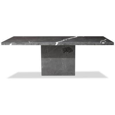 Pegani matbord i marmor - 215x110 cm