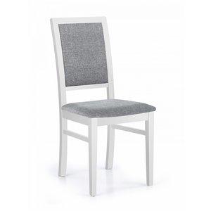 Brenda matstol - Ljus grå/vit