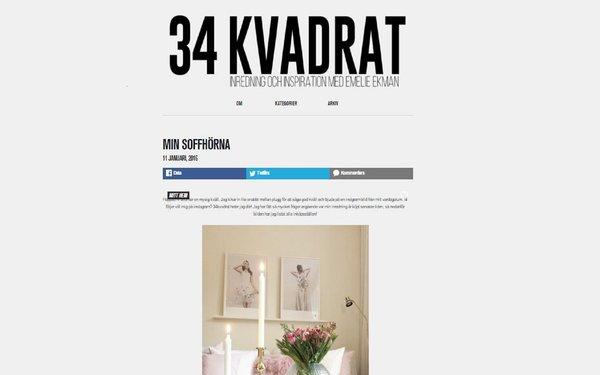 34 kvadrat Inredning & Inspiration