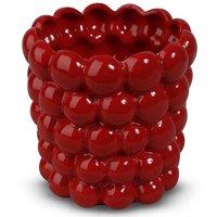 Kruka Big Bouble H16 cm - Röd