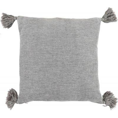 Tassle kuddfodral 45x45 cm - Grey