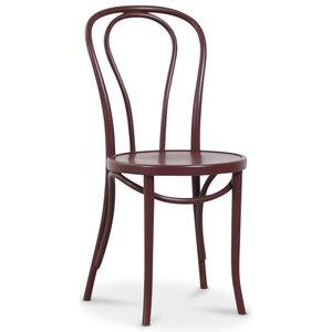 Böjträ Stol No18 Klassiker - Burgundy