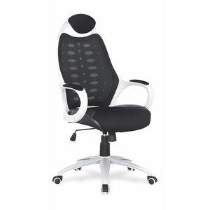 Burcu kontorsstol - Vit/svart