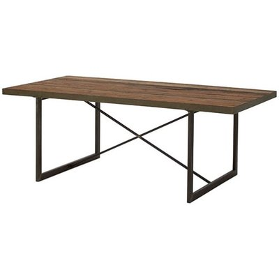 Dublin matbord 200x100 cm - Brunoljat trä