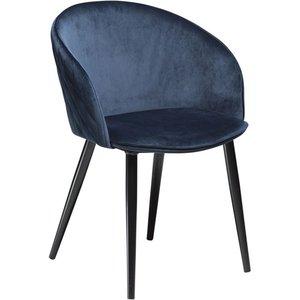 Dual karmstol - Midnatt blå