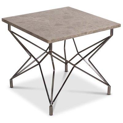 Cliff soffbord - Beige marmor / Krom