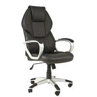 Office skrivbordsstol - svart / beige
