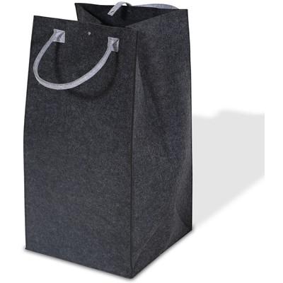 Tvättkorg Deluxe Höjd 75 cm - Mörkgrå