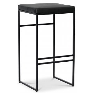 Stage barstol - Svart PU / svart
