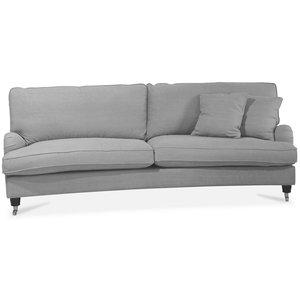 Ophelia svängd 3-sits soffa - Valfri färg!