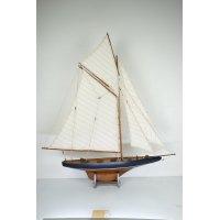 Modellbåt Columbia segelbåt - Brun
