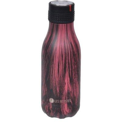Bottle up termosflaska svart/röd - 280 ml