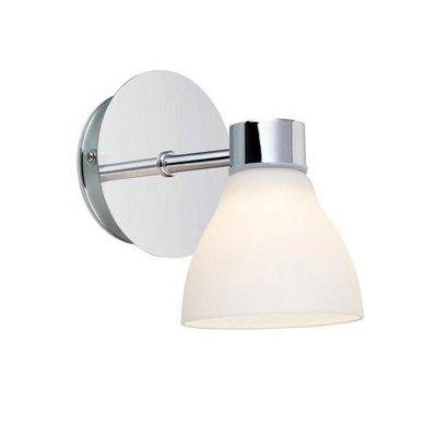 Cassis Vägglampa - Krom/Opal