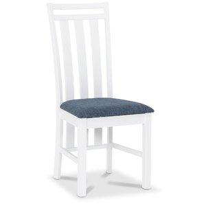Skagen matstol - Vit / Blå