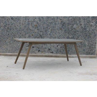 Matbord Camel - Ljusgrå