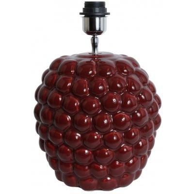 Big Bouble lampfot H32 cm - Röd (Glansig)
