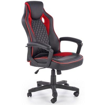 F1 gamingstol - Svart/röd