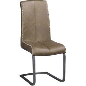 Juliana stol - Konstläder/stål