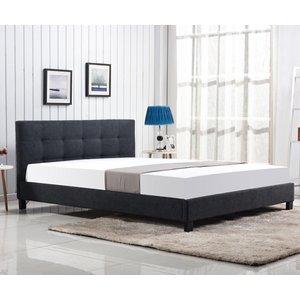 Rylan säng - Antracit (Tyg)