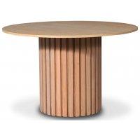 PiPi runt matbord Ø120 cm - Oljad ek