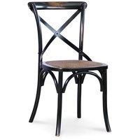 Holmen vintage stol - Svart
