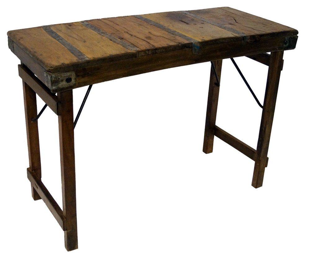Haag avlastningsbord Vintage trä 3595 kr Trendrum.se