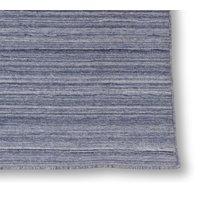 Handvävd ullmatta Island - Blå - 160x230 cm
