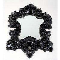 Spegel Romantisk - Svart