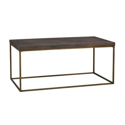 Denny soffbord - Brun/guld