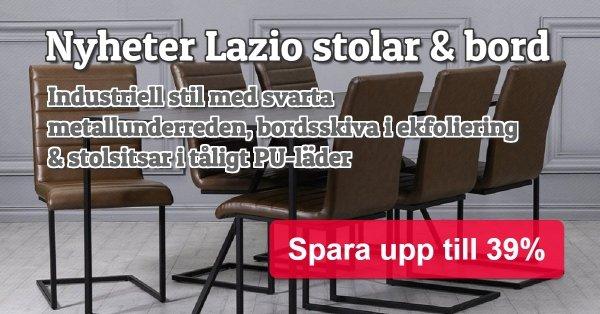 Lazio bord och stolar - Spara upp till 39%