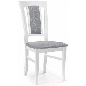 Kara matstol - Vit/grå
