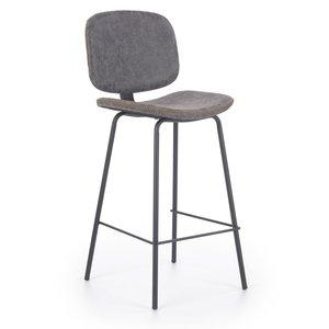 Audra barstol - Grå/svart