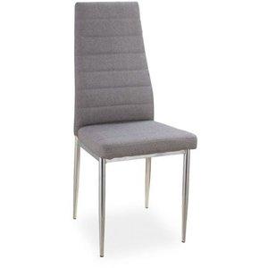 Dylan stol - Grå/krom