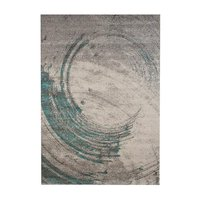 Maskinvävd matta Chrystal - Turkos
