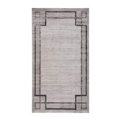 Maskinvävd matta - Craft Versace Silver