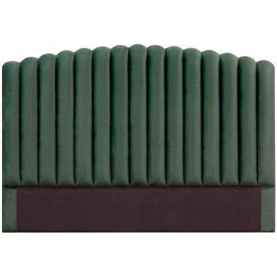 Bornholm sänggavel (Smaragdgrön sammet) - Valfri bredd