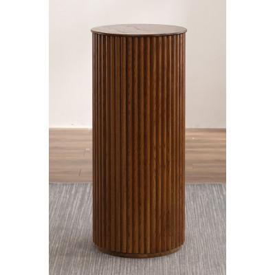 Cylinder piedestal - Valnöt