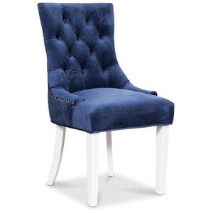 Tuva Decotique stol - Blå sammet
