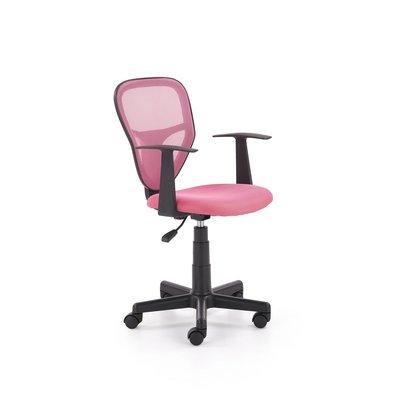 Ingolf kontorsstol för barn - Rosa/svart